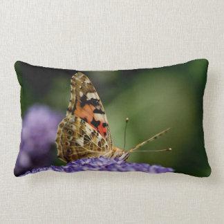 Watching and Waiting butterfly Lumbar Pillow