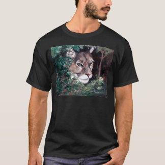 Watching Cougar Mens Tshirt