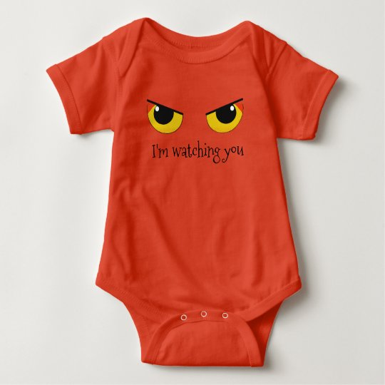 Watching Eyes Baby Bodysuit