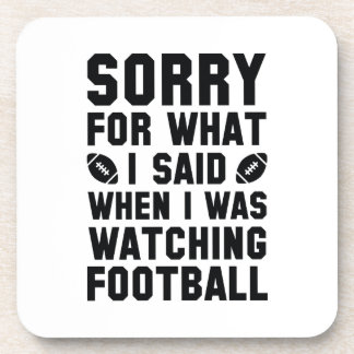 Watching Football Coaster