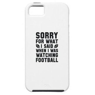 Watching Football iPhone 5 Cover