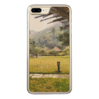 Watching it rain carved iPhone 7 plus case