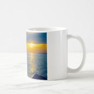 Watching life, Watching the sun Coffee Mug
