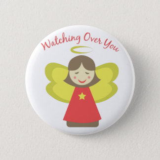 Watching Over You 2 Inch Round Button