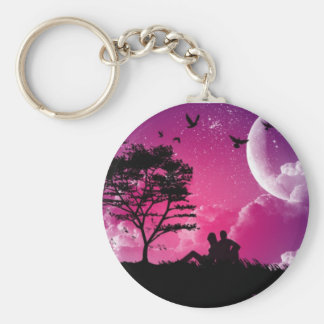 Watching Skies Keychain