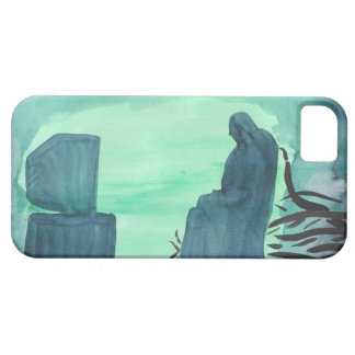 Watching Television iPhone 5 Cases