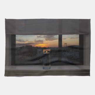 Watching The Sunset Kitchen Towel