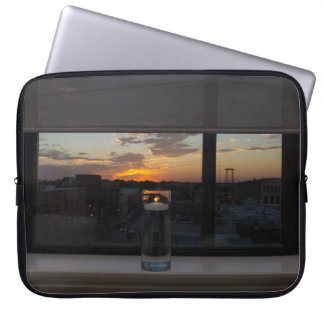 Watching The Sunset Laptop Sleeve