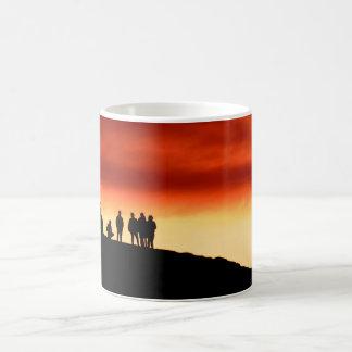 Watching the sunset Mug