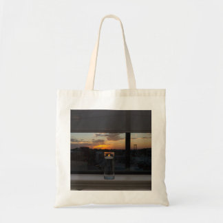 Watching The Sunset Tote Bag