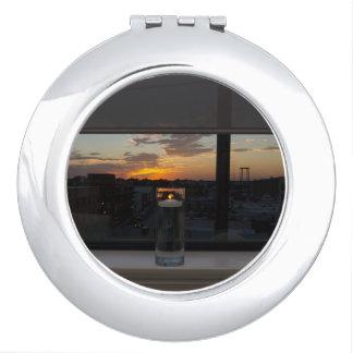 Watching The Sunset Vanity Mirrors