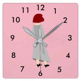 Watching The Time Tick Away Clock Design