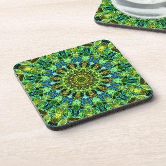 Watching You kaleidoscope Beverage Coasters