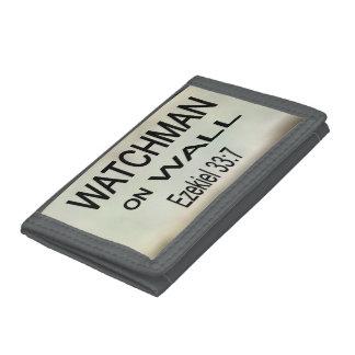 Watchman on Wall Wallet