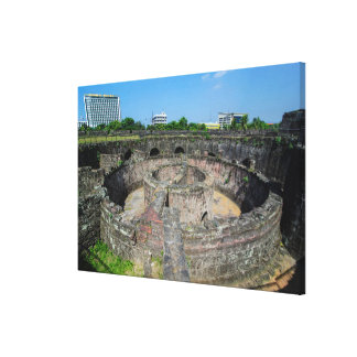Watchtower Ruins Of Luzon Canvas Print