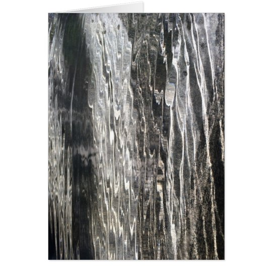 Water - abstract art - Greeting Card