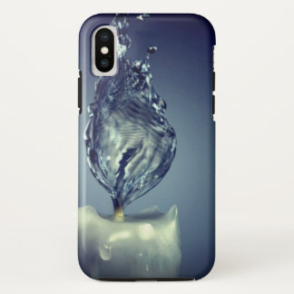 water abstract iphone x hard case