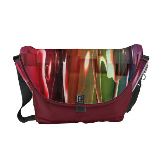 Water Abstract Messenger Bag