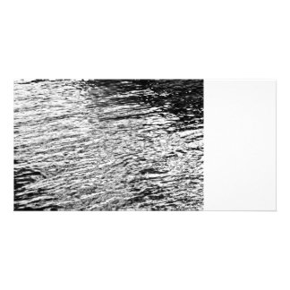 Water Abstract Photo Card