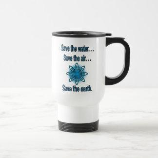 Water, Air, and Earth Mug