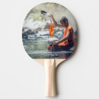 Water and Fire Ping-Pong Paddle