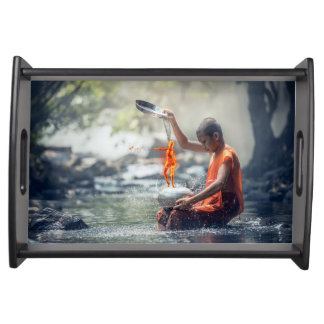 Water and Fire Serving Tray