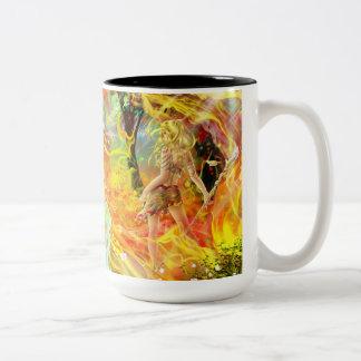 Water and Flame mug