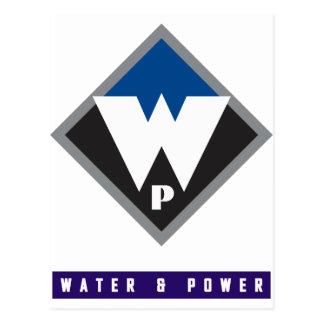 Water and Power Postcard