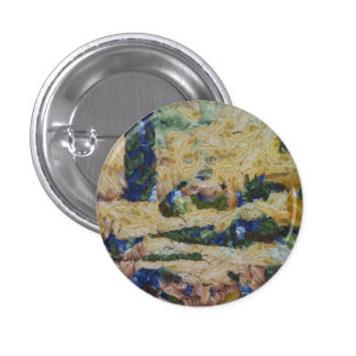 Water and river delta 1 inch round button