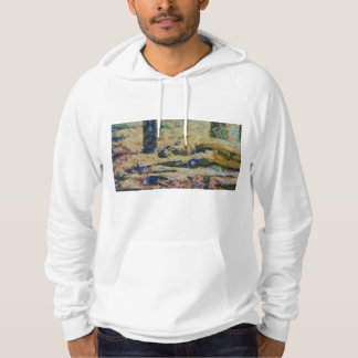 Water and river delta hoodie