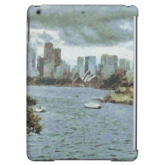 Water and skyline iPad air case