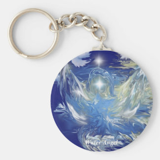 Water Angel Keychain