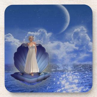 Water Angel  Set of Six Coasters