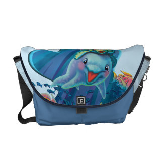 Water Babies Courier Bag