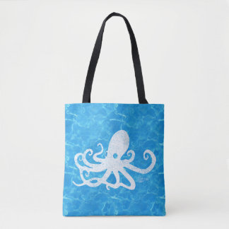 Water Baby Octopus Tote