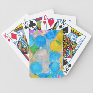 water balls bicycle playing cards