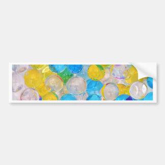 water balls bumper sticker