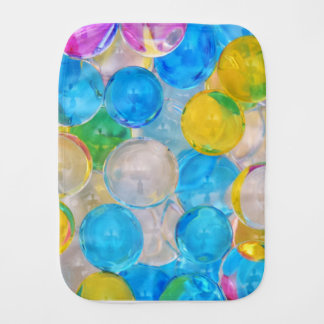 water balls burp cloth