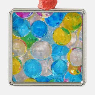 water balls metal ornament
