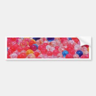 water balls texture bumper sticker