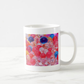 water balls texture coffee mug