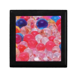 water balls texture gift box