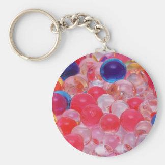 water balls texture keychain