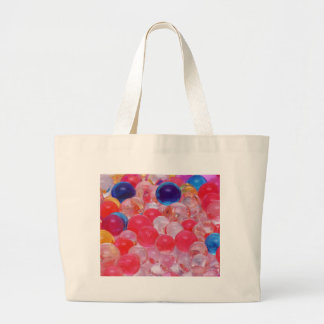 water balls texture large tote bag