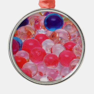 water balls texture metal ornament