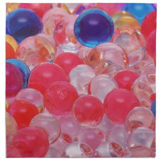 water balls texture napkin