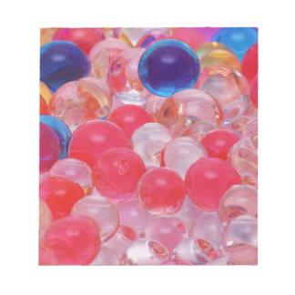 water balls texture notepad