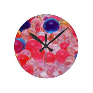 water balls texture round clock