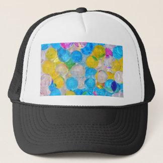 water balls trucker hat