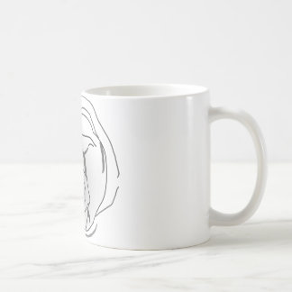 Water Bear Tardigrade Face Coffee Mug